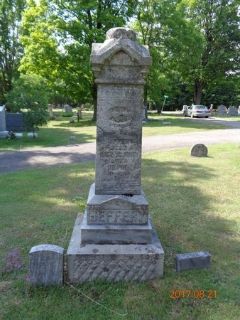 JEFFERY, FAMILY - Marquette County, Michigan | FAMILY JEFFERY - Michigan Gravestone Photos