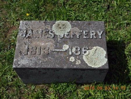 JEFFERY, JAMES - Marquette County, Michigan | JAMES JEFFERY - Michigan Gravestone Photos