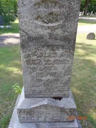 JEFFERY, JOHN HENRY - Marquette County, Michigan | JOHN HENRY JEFFERY - Michigan Gravestone Photos