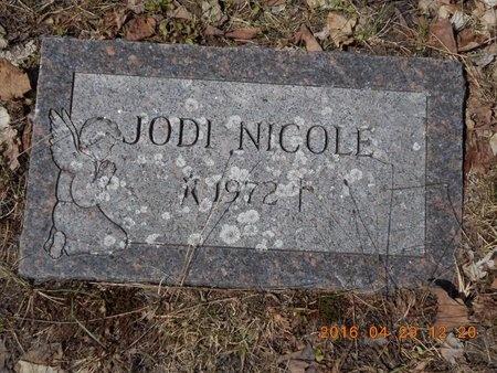 JENNINGS, JODI NICOLE - Marquette County, Michigan   JODI NICOLE JENNINGS - Michigan Gravestone Photos