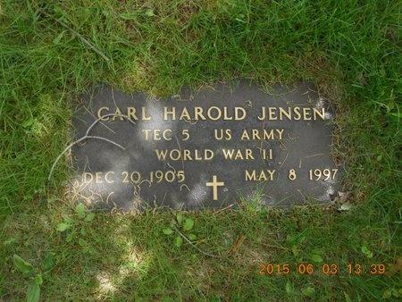 JENSEN, CARL HAROLD - Marquette County, Michigan   CARL HAROLD JENSEN - Michigan Gravestone Photos