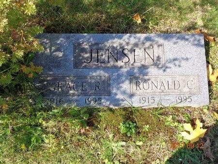 JENSEN, GRACE R. - Marquette County, Michigan | GRACE R. JENSEN - Michigan Gravestone Photos