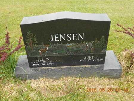 JENSEN, JUNE L. - Marquette County, Michigan | JUNE L. JENSEN - Michigan Gravestone Photos