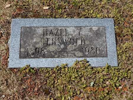 JENSWOLD, HAZEL T. - Marquette County, Michigan | HAZEL T. JENSWOLD - Michigan Gravestone Photos