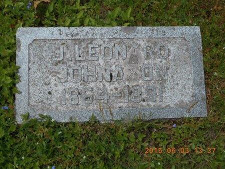 JOHNASON, J. LEONARD - Marquette County, Michigan | J. LEONARD JOHNASON - Michigan Gravestone Photos