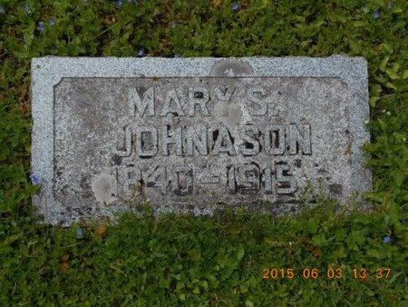 JOHNASON, MARY S. - Marquette County, Michigan | MARY S. JOHNASON - Michigan Gravestone Photos