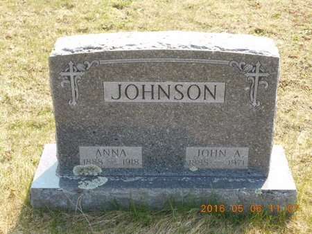 JOHNSON, ANNA - Marquette County, Michigan | ANNA JOHNSON - Michigan Gravestone Photos
