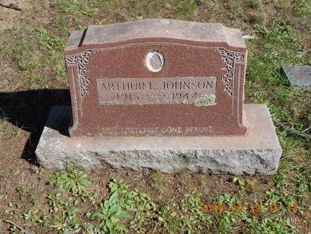 JOHNSON, ARTHUR E. - Marquette County, Michigan | ARTHUR E. JOHNSON - Michigan Gravestone Photos