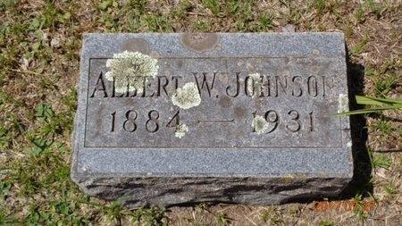 JOHNSON, ALBERT W. - Marquette County, Michigan | ALBERT W. JOHNSON - Michigan Gravestone Photos