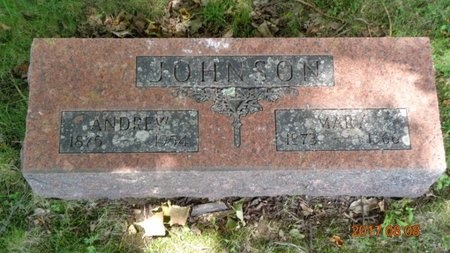 JOHNSON, ANDREW - Marquette County, Michigan | ANDREW JOHNSON - Michigan Gravestone Photos