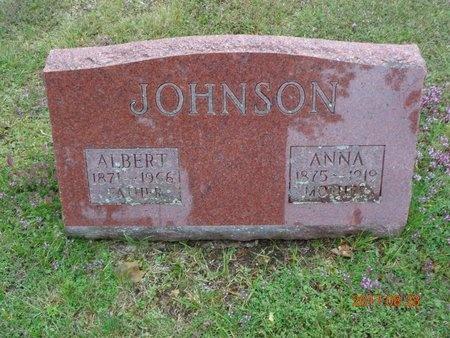 JOHNSON, ANNA - Marquette County, Michigan | ANNA JOHNSON - Michigan Gravestone Photos