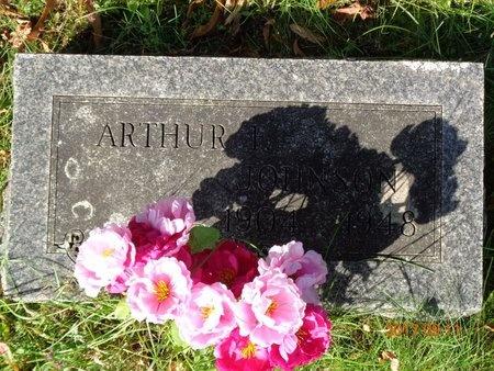 JOHNSON, ARTHUR F. - Marquette County, Michigan   ARTHUR F. JOHNSON - Michigan Gravestone Photos