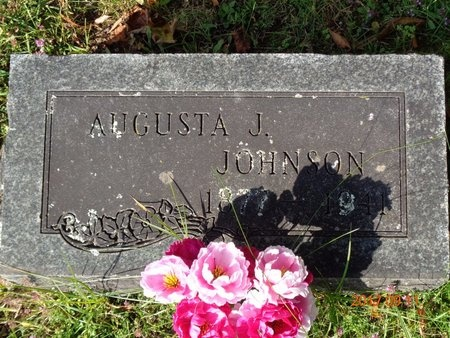 JOHNSON, AUGUSTA J. - Marquette County, Michigan | AUGUSTA J. JOHNSON - Michigan Gravestone Photos
