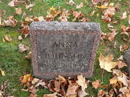 JOHNSON, ANNA - Marquette County, Michigan   ANNA JOHNSON - Michigan Gravestone Photos