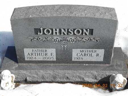 JOHNSON, CAROL R. - Marquette County, Michigan | CAROL R. JOHNSON - Michigan Gravestone Photos