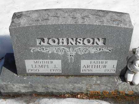 JOHNSON, LEMPI J. - Marquette County, Michigan | LEMPI J. JOHNSON - Michigan Gravestone Photos
