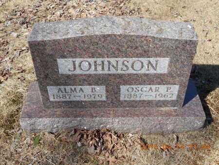 JOHNSON, OSCAR P. - Marquette County, Michigan | OSCAR P. JOHNSON - Michigan Gravestone Photos