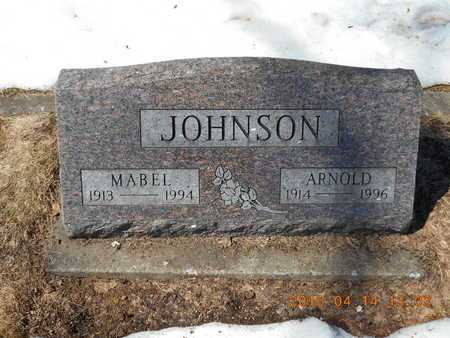 JOHNSON, ARNOLD - Marquette County, Michigan | ARNOLD JOHNSON - Michigan Gravestone Photos