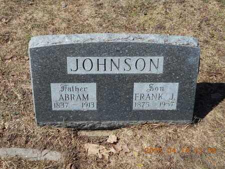 JOHNSON, FRANK J. - Marquette County, Michigan | FRANK J. JOHNSON - Michigan Gravestone Photos