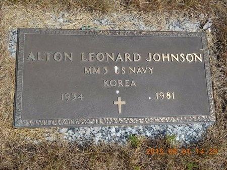 JOHNSON, ALTON LEONARD - Marquette County, Michigan | ALTON LEONARD JOHNSON - Michigan Gravestone Photos