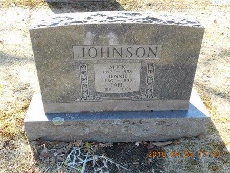 JOHNSON, ALICK - Marquette County, Michigan | ALICK JOHNSON - Michigan Gravestone Photos
