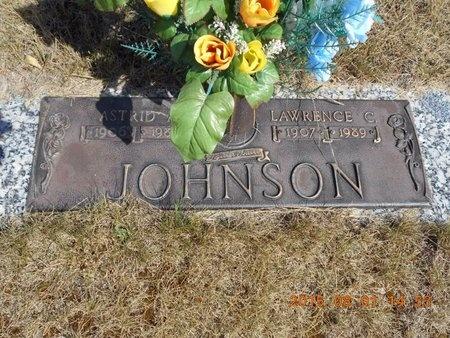 JOHNSON, ASTRID A. - Marquette County, Michigan | ASTRID A. JOHNSON - Michigan Gravestone Photos