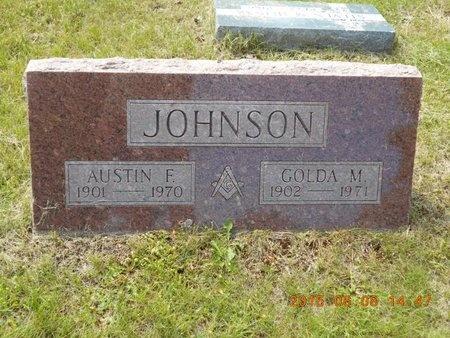 JOHNSON, AUSTIN F. - Marquette County, Michigan | AUSTIN F. JOHNSON - Michigan Gravestone Photos