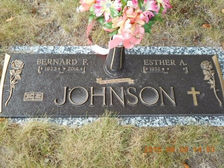 JOHNSON, ESTHER A. - Marquette County, Michigan | ESTHER A. JOHNSON - Michigan Gravestone Photos