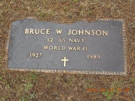 JOHNSON, BRUCE W. - Marquette County, Michigan | BRUCE W. JOHNSON - Michigan Gravestone Photos