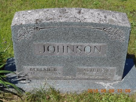 JOHNSON, ARTHUR R. - Marquette County, Michigan | ARTHUR R. JOHNSON - Michigan Gravestone Photos
