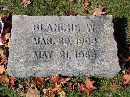 JOHNSON, BLANCHE W. - Marquette County, Michigan   BLANCHE W. JOHNSON - Michigan Gravestone Photos