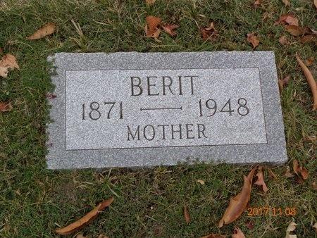 JOHNSON, BERIT - Marquette County, Michigan | BERIT JOHNSON - Michigan Gravestone Photos