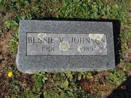 JOHNSON, BESSIE V. - Marquette County, Michigan | BESSIE V. JOHNSON - Michigan Gravestone Photos