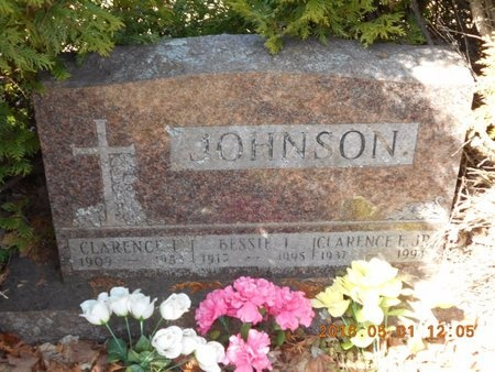 JOHNSON, BESSIE I. - Marquette County, Michigan | BESSIE I. JOHNSON - Michigan Gravestone Photos