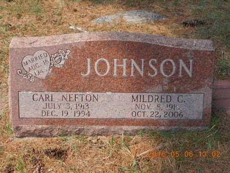 JOHNSON, MILDRED C. - Marquette County, Michigan | MILDRED C. JOHNSON - Michigan Gravestone Photos