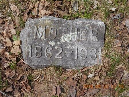 JOHNSON, CAROLINE - Marquette County, Michigan | CAROLINE JOHNSON - Michigan Gravestone Photos