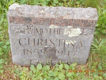 JOHNSON, CHRISTINA JOSEPHINE - Marquette County, Michigan | CHRISTINA JOSEPHINE JOHNSON - Michigan Gravestone Photos