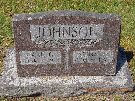 JOHNSON, CARL G. - Marquette County, Michigan | CARL G. JOHNSON - Michigan Gravestone Photos