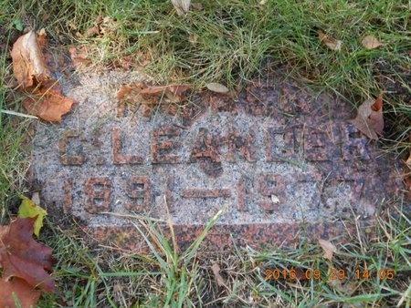 JOHNSON, C. LEANDER - Marquette County, Michigan | C. LEANDER JOHNSON - Michigan Gravestone Photos