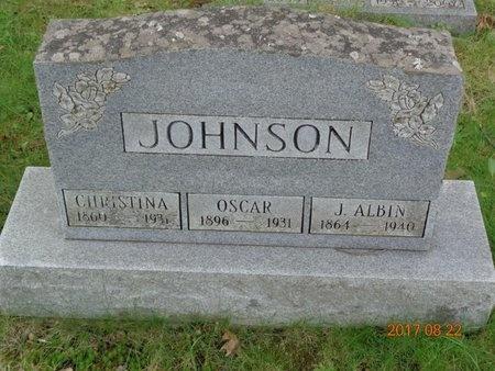 JOHNSON, OSCAR - Marquette County, Michigan | OSCAR JOHNSON - Michigan Gravestone Photos