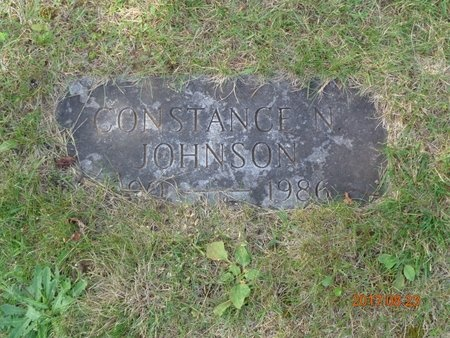 JOHNSON, CONSTANCE N. - Marquette County, Michigan | CONSTANCE N. JOHNSON - Michigan Gravestone Photos