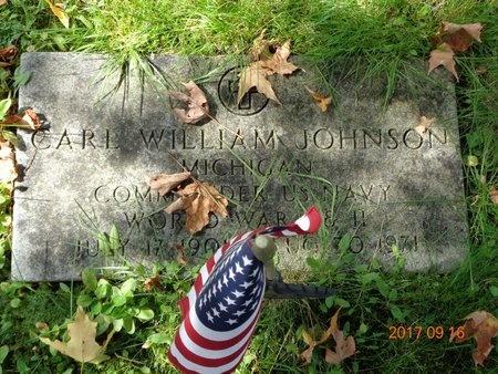 JOHNSON, CARL WILLIAM - Marquette County, Michigan | CARL WILLIAM JOHNSON - Michigan Gravestone Photos