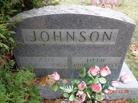 JOHNSON, C. AXEL - Marquette County, Michigan | C. AXEL JOHNSON - Michigan Gravestone Photos