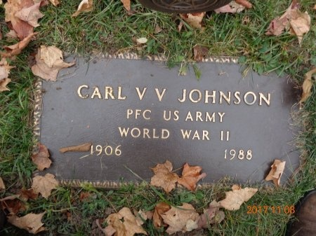 JOHNSON, CARL V.V. - Marquette County, Michigan | CARL V.V. JOHNSON - Michigan Gravestone Photos