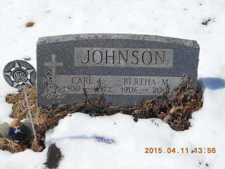 JOHNSON, CARL L. - Marquette County, Michigan | CARL L. JOHNSON - Michigan Gravestone Photos