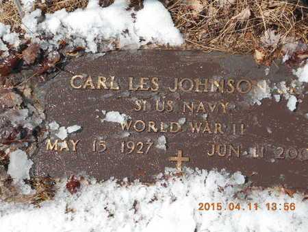 JOHNSON, CARL LES - Marquette County, Michigan | CARL LES JOHNSON - Michigan Gravestone Photos