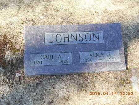 JOHNSON, CARL A. - Marquette County, Michigan | CARL A. JOHNSON - Michigan Gravestone Photos