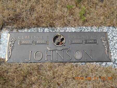 JOHNSON, CLARENCE E. - Marquette County, Michigan   CLARENCE E. JOHNSON - Michigan Gravestone Photos