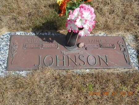 JOHNSON, LAINA S. - Marquette County, Michigan | LAINA S. JOHNSON - Michigan Gravestone Photos