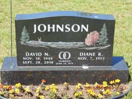 JOHNSON, DIANE R. - Marquette County, Michigan | DIANE R. JOHNSON - Michigan Gravestone Photos